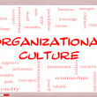 Stock Photo: Organizational Culture Word Cloud Concept on Whiteboard