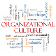 Stock Photo: Organizational Culture Word Cloud Concept
