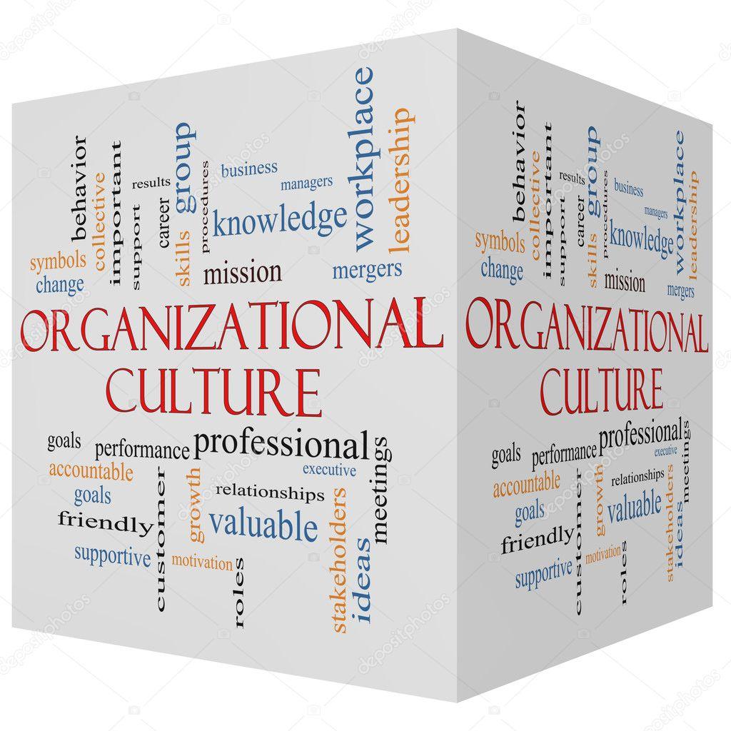 Facebook Organizational Culture Organizational Culture 3d Cube