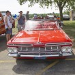 1959 Red Chevy Impala Convertible Front View — Stock Photo