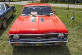 1971 Orange Chevy Nova SS — Stock Photo