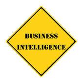 Бизнес разведки знак — Стоковое фото