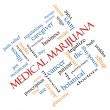 Medical MarijuanWord Cloud Concept Angled — Stock Photo #41179267