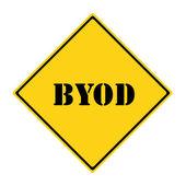 BYOD Sign — Foto de Stock