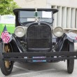 1924 Black Dodge Brothers Touring Car Front View — Stock Photo