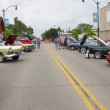 Stock Photo: Winneconne Car Show Street View