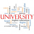 Stock Photo: University Word Cloud Concept