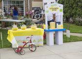 Lemonade Stand at Winneconne Car Show — Foto de Stock