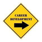 Career Development that way Sign — Stock Photo #42181905