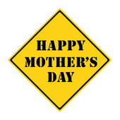 Happy Mother's Day Sign — Stock Photo