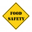 Food Safety Sign — Stock Photo #42575727