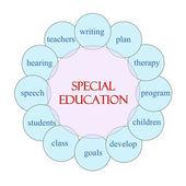 Special Education Circular Word Concept — Stock Photo