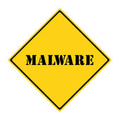 Malware Sign — Stock Photo