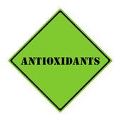 Antioxidants Sign — Stock Photo