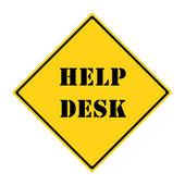 Help Desk Sign — Stock Photo