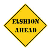Fashion Ahead Sign — Stock Photo