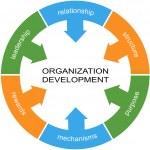Organization Development Word Circle Concept — Stock Photo #44639105