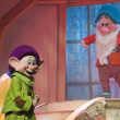 Постер, плакат: Grumpy and Dopey from Snow White talking