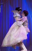 Blancanieves y el príncipe abrazando — Foto de Stock