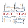 ������, ������: Heart Disease Word Cloud Concept
