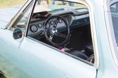 Powder Blue Chevy El Camino Interior — Foto de Stock