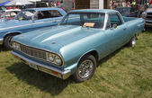 Powder Blue Chevy El Camino Side View — 图库照片