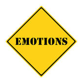 Emotions Sign — Stock Photo