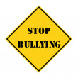 Stop Bullying Sign — Stock Photo #46064253