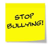 Stop Bullying Sticky Note — Stockfoto