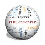 Philosophy 3D sphere Word Cloud Concept — Stock Photo #46110795