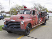 1951 Chevy Fire Truck — Stock Photo