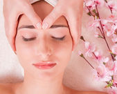 Beauty spa treatment — Stock Photo