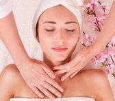 Beauty-spa-behandlung — Stockfoto