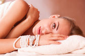 Beatiful women relax — Stock Photo