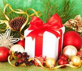 Weihnachtsgeschenk — Stockfoto