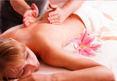 Massage body — Stock Photo