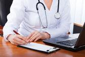 Médico en el hospital — Foto de Stock