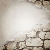Fragmented stone wall texture — Stock Photo