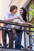 Beautiful young couple in love — Stock Photo