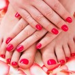 Manicure and pedicure — ストック写真