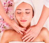 Beauty spa treatment — Stock Photo