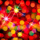Multi-colored glowing background. Christmas card. — Stock Photo