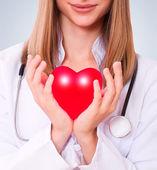 Seguro de salud o el concepto de amor — Foto de Stock