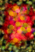 Multi-colored glowing background. Christmas card. — Stock fotografie