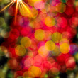 Stock Photo: Multi-colored glowing background. Christmas card.