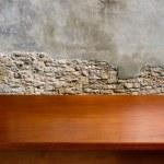 Empty wooden table — Stock Photo