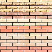Red brick wall — Stock Photo