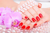 Manicure and pedicure — Stock Photo