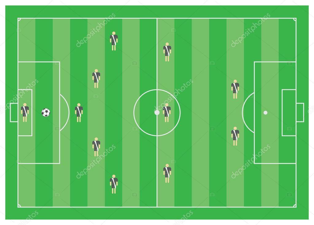 5-3-2 Футбол тактические схемы