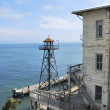 Alcatraz Watchtower — Stock Photo